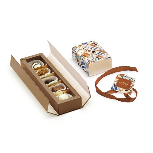 Подарочный набор конфет ручной работы Пенал-купе на 23 февраля