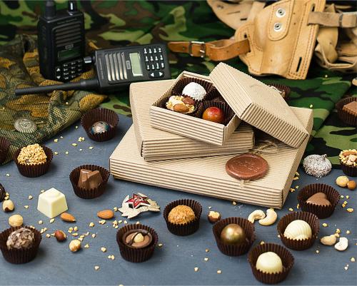 Тематический набор конфет ручной работы Эко-стиль на 23 февраля