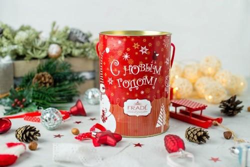 """Новогодний детский набор шоколадных конфет """"Туба"""""""