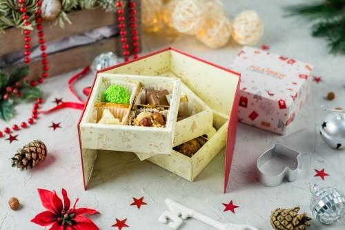 Новогодний набор конфет ручной работы Праздник