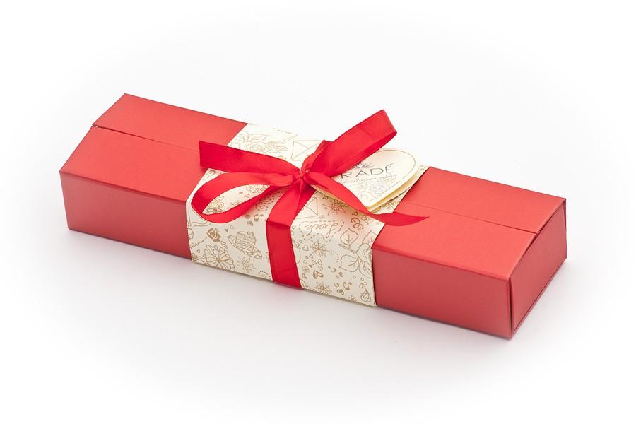 Подарочный набор конфет ручной работы Пенал-купе