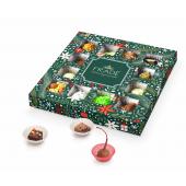 Новогодний набор конфет ручной работы Квадраты