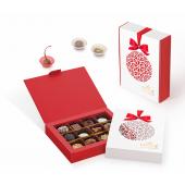 Новогодний набор конфет ручной работы Пенал с лазерной резкой