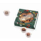 Новогодний набор конфет ручной работы Ларец