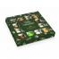 Тематический набор конфет ручной работы Квадраты на 23 февраля