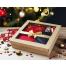 Новогодний подарочный набор конфет ручной работы