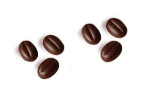 Кофейное зерно из шоколада