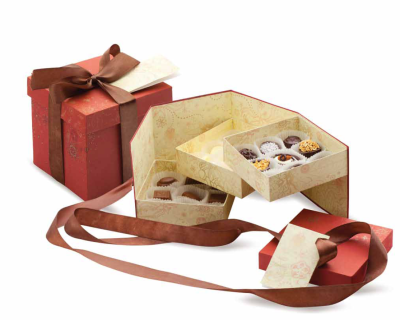 набор шоколадных конфет ручной работы