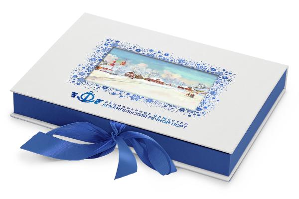пример дизайна набора конфет для Архречпорт