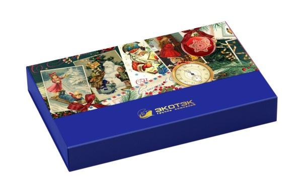 корпоративный набор конфет ручной работы Экотек
