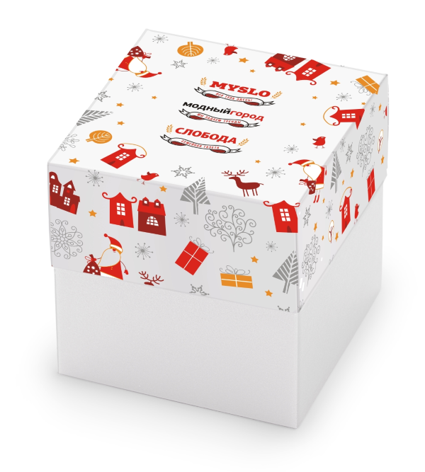 пример дизайна набора конфет для Модный город