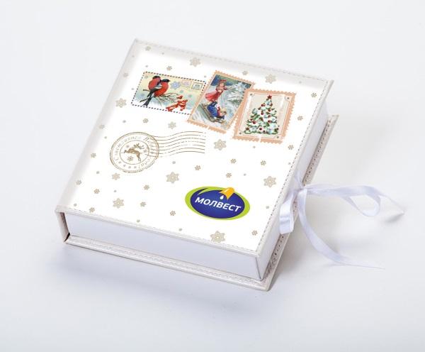 корпоративный набор конфет ручной работы Молвест