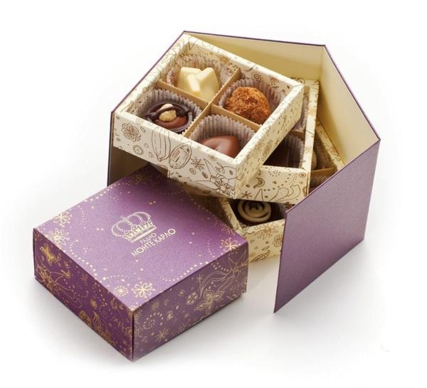 корпоративный набор конфет ручной работы Монте Карло