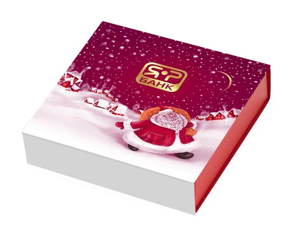 пример дизайна набора конфет для Яр банк