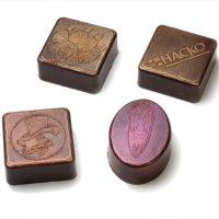шоколадные конфеты с логотипом 1
